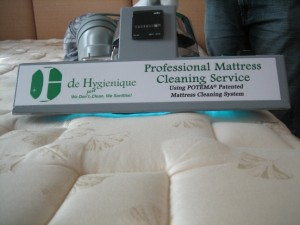 advantages to using UV-C to disinfect mattresses