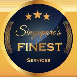 Singapore's Finest Services Badge