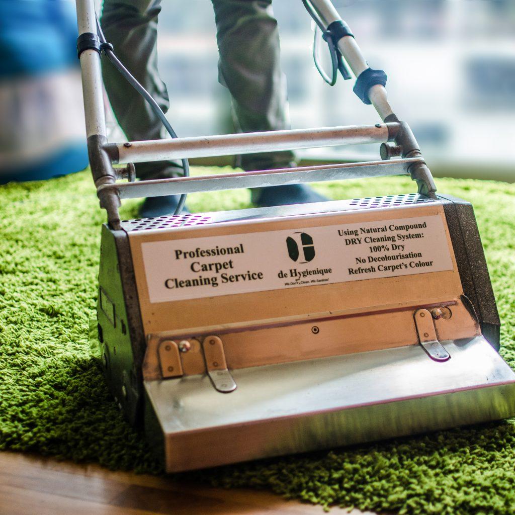 De Hygienique Carpet Cleaning Machine