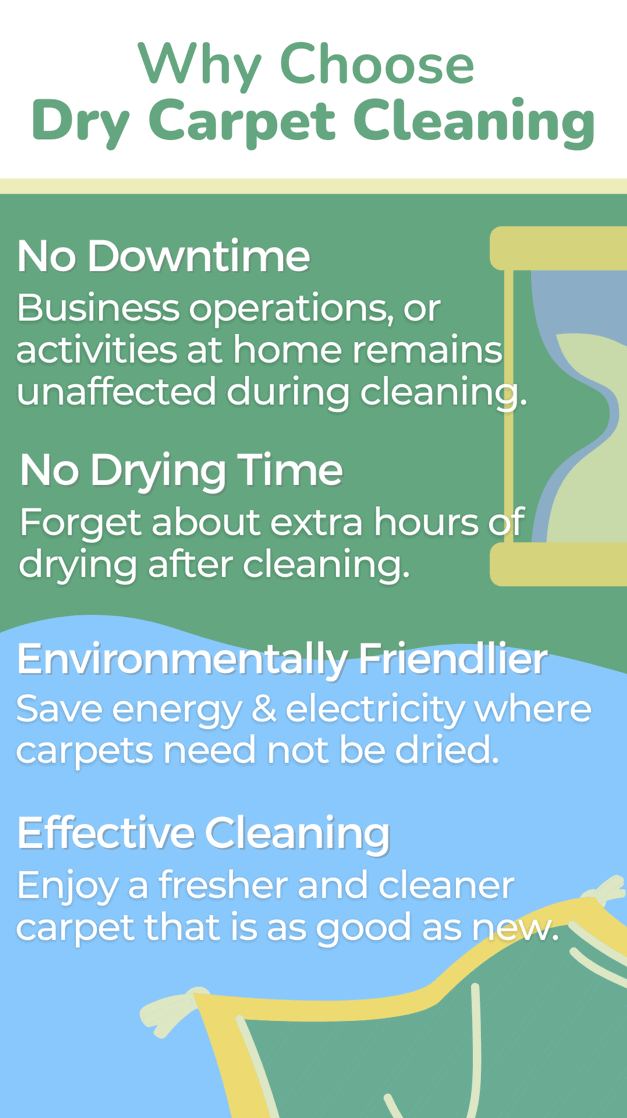 Why Choose Dry Carpet Cleaning?