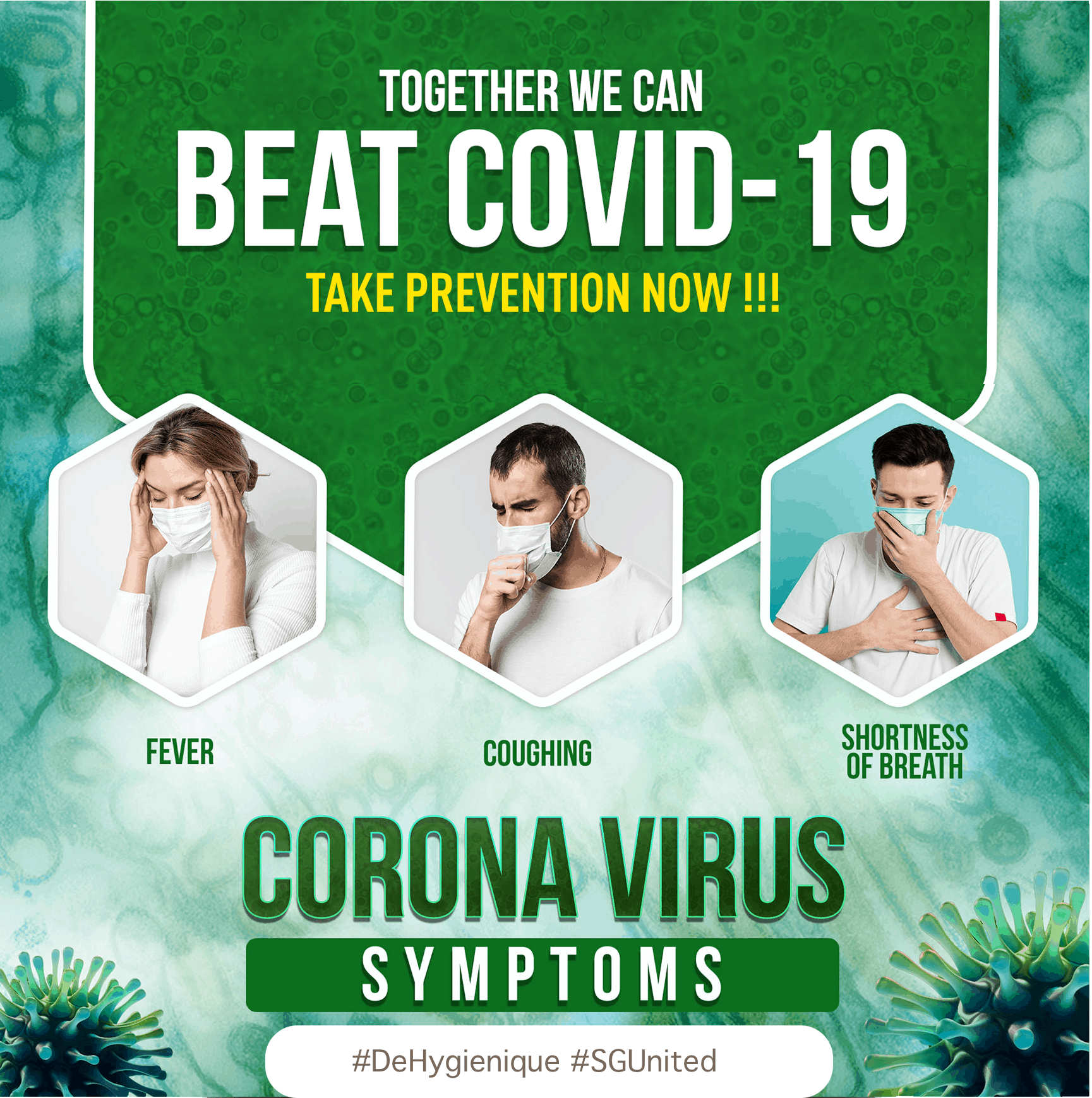 Together We Can Beat COVID-19